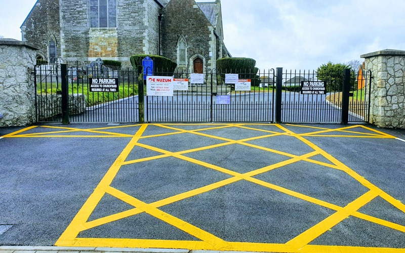 Castleknock Church Car Park